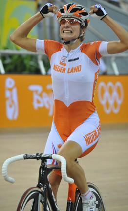Marianne Vos goud op spelen Beijing
