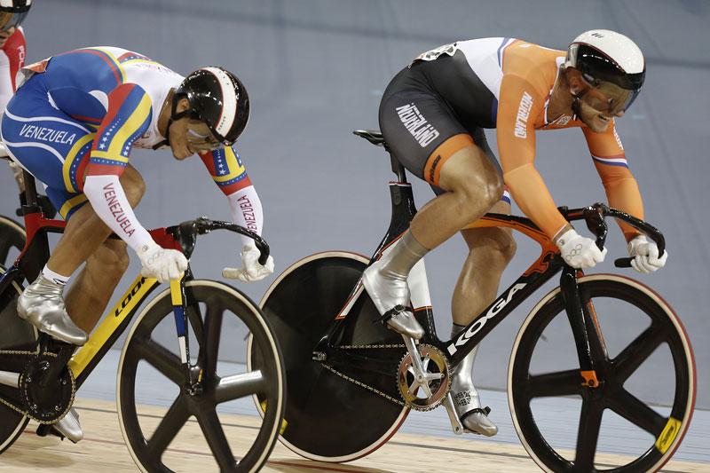 Teun Mulder brons op Olympische Spelen London